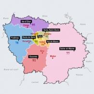 Zones géographiques  d'Intervention